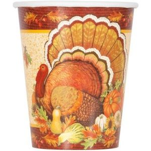 Thanksgiving Paper Cups, 48ct